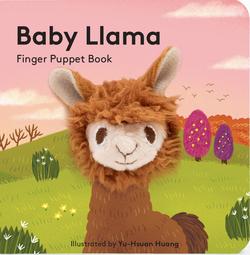 Baby Llama: Finger Puppet Book book