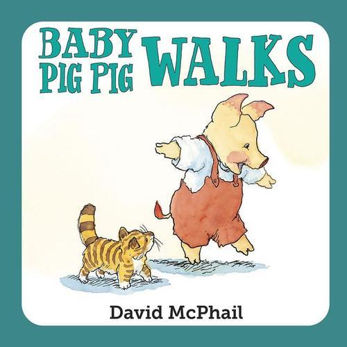Baby Pig Pig Walks book