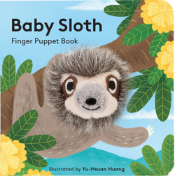 Baby Sloth: Finger Puppet Book Book