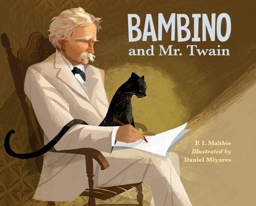 Bambino and Mr. Twain book