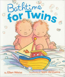 Bathtime for Twins book