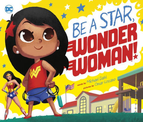 Be a Star, Wonder Woman! book