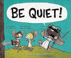 BE QUIET! book
