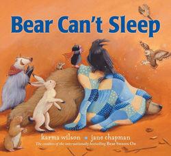 Bear Can't Sleep book