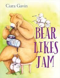 Bear Likes Jam Book