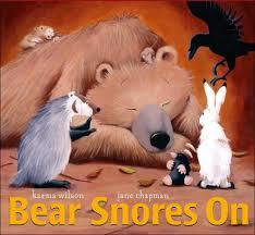 Bear Snores On book