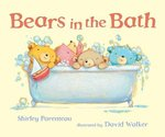 Bears in the Bath book
