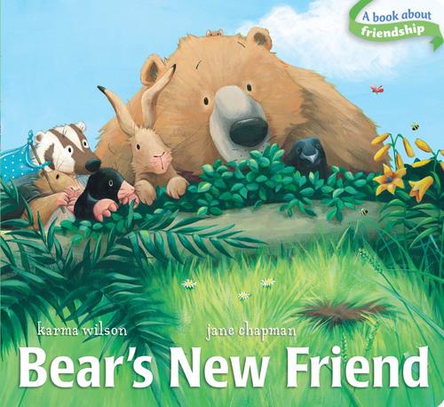 Bear's New Friend book