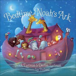 Bedtime on Noah's Ark book