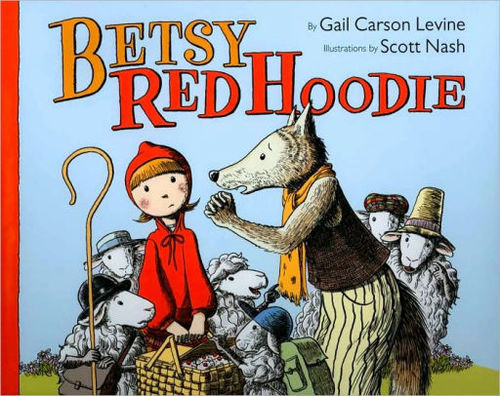 Betsy Red Hoodie book
