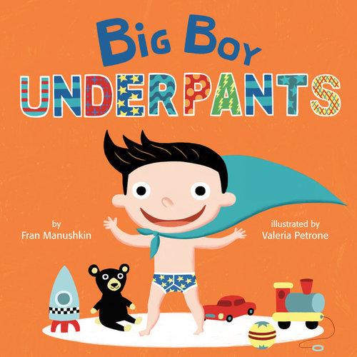 Big Boy Underpants book