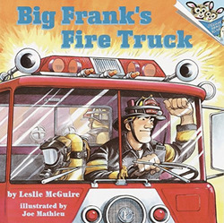 Big Frank's Fire Truck book