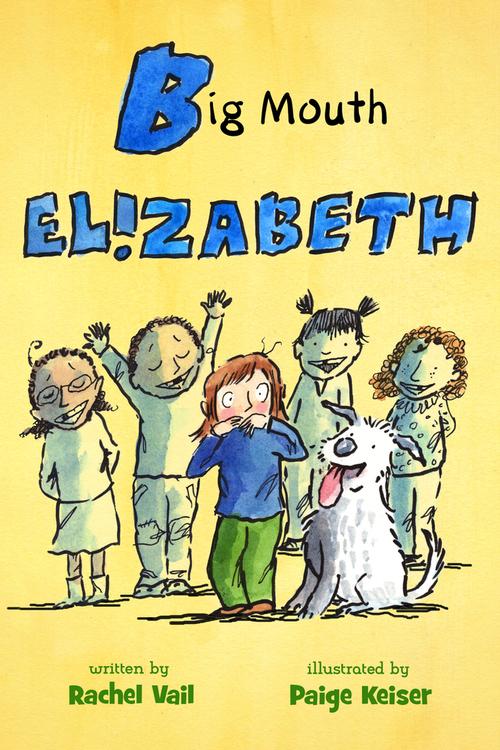 Big Mouth Elizabeth book