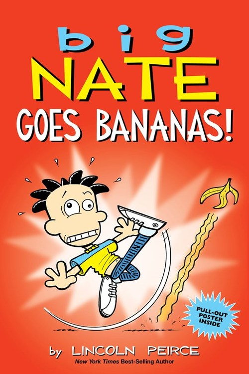 Big Nate Goes Bananas! Book