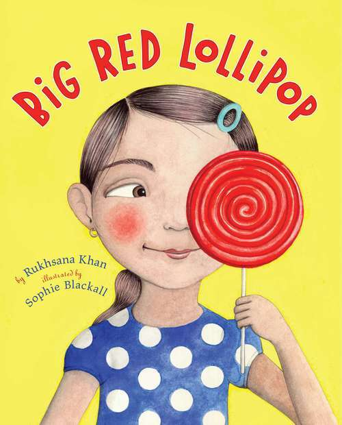 Big Red Lollipop book