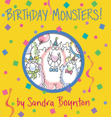 Birthday Monsters! book