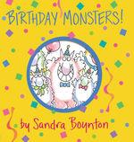 Birthday Monsters! book