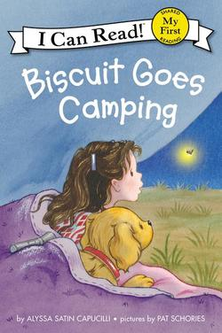 Biscuit Goes Camping book