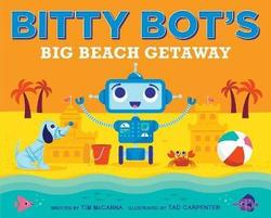 Bitty Bot's Big Beach Getaway book