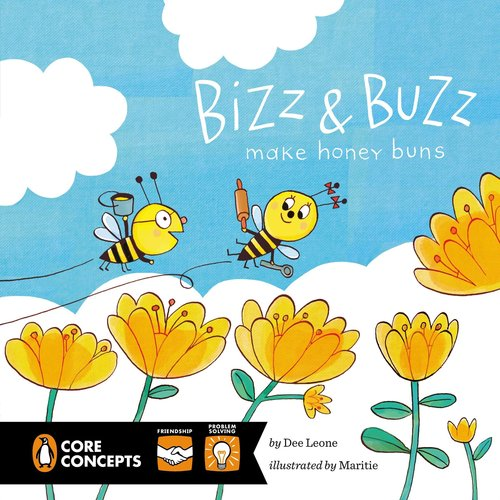 Bizz & Buzz Make Honey Buns Book