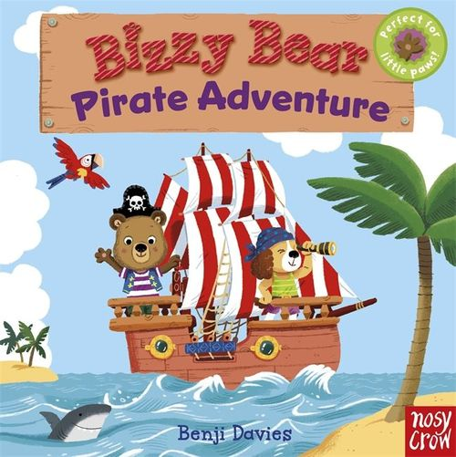 Bizzy Bear: Pirate Adventure book