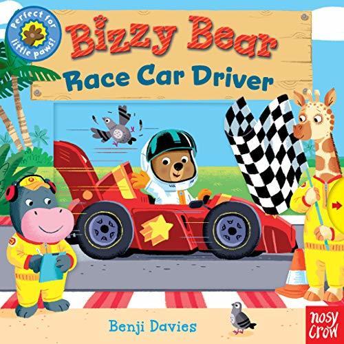 Bizzy Bear: Race Car Driver book