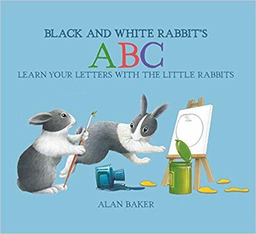 Black and White Rabbit's ABC book