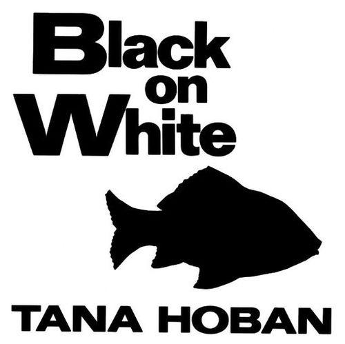 Black on White book