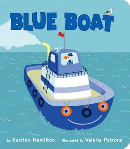 Blue Boat book