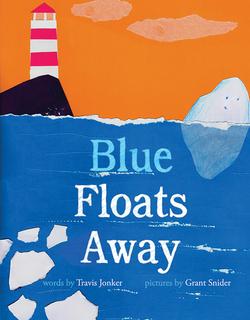 Blue Floats Away book