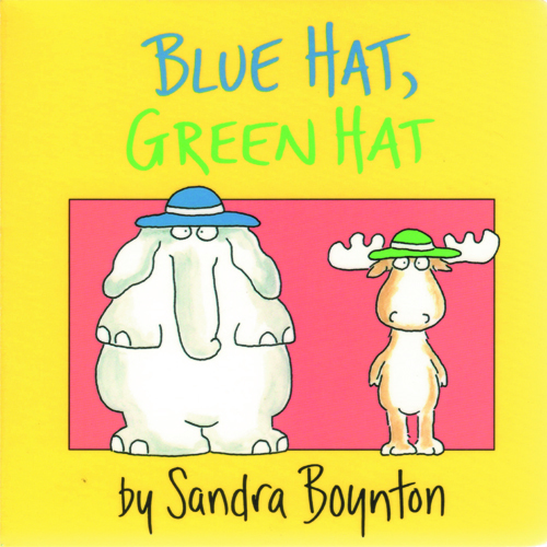 Blue Hat, Green Hat book