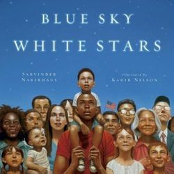 Blue Sky White Stars Bilingual Edition Book