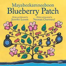 Blueberry Patch / Mayabeekamneeboon book