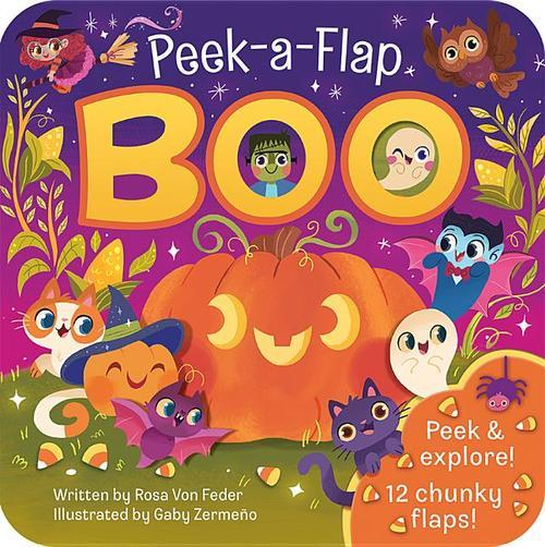 Boo: Peek-a-Flap book