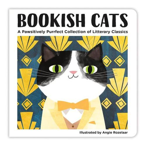 Bookish Cats Board Book book