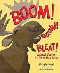 Boom! Bellow! Bleat! book