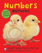Bright Baby Bilingual Touch & Feel: Numbers: English-Spanish Bilingual book