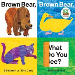 Brown Bear, Brown Bear, What Do You See? Slide and Find book
