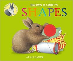 Brown Rabbit's Shapes book