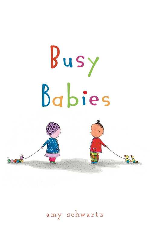 Busy Babies book