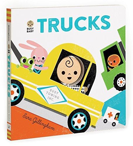 Busy Baby: Trucks book