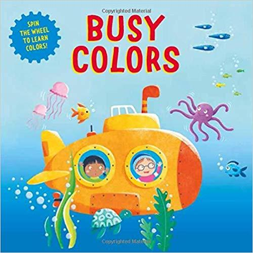 Busy Colors book