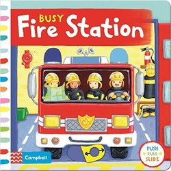 Busy Fire Station book