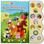 Busy Noisy Farm book