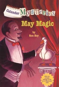 Calendar Mysteries: May Magic book