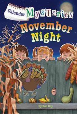 Calendar Mysteries: November Night book