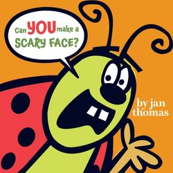 Can You Make a Scary Face? book