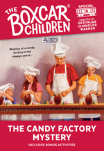 Candy Factory Mystery book