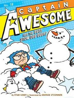 Captain Awesome Has the Best Snow Day Ever? book