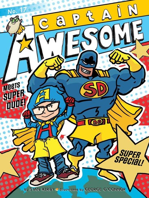 Captain Awesome Meets Super Dude! book